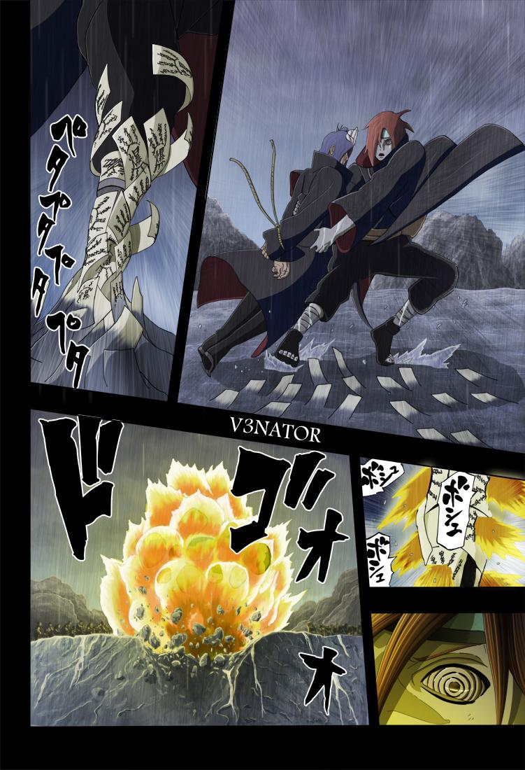 Naruto chapitre 447 colorisé - Page 4