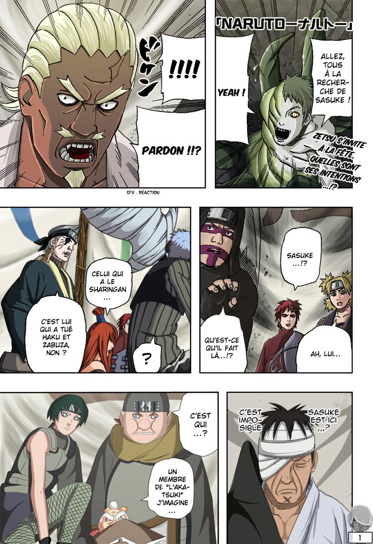 Naruto chapitre 460 colorisé - Page 1