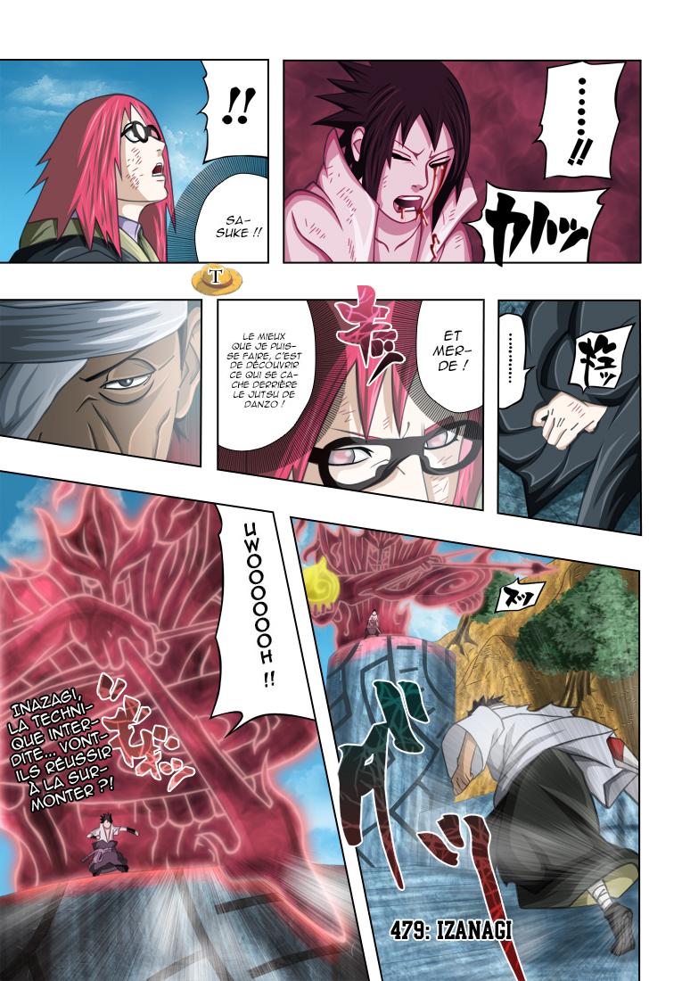 Naruto chapitre 479 colorisé - Page 1