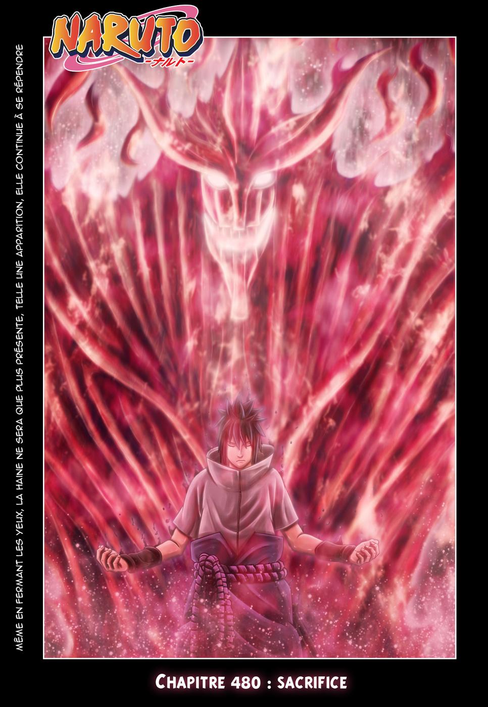 Naruto chapitre 480 colorisé - Page 1