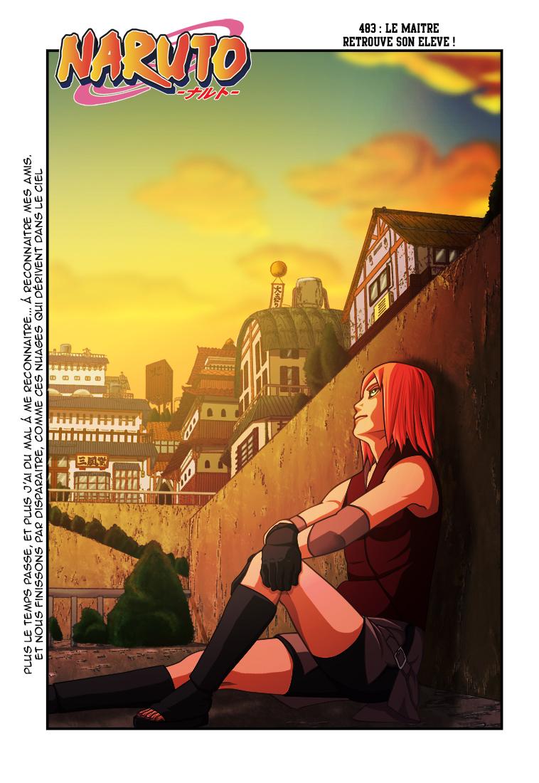 Naruto chapitre 483 colorisé - Page 1