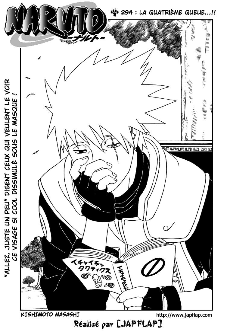 Naruto chapitre 294 - Page 1