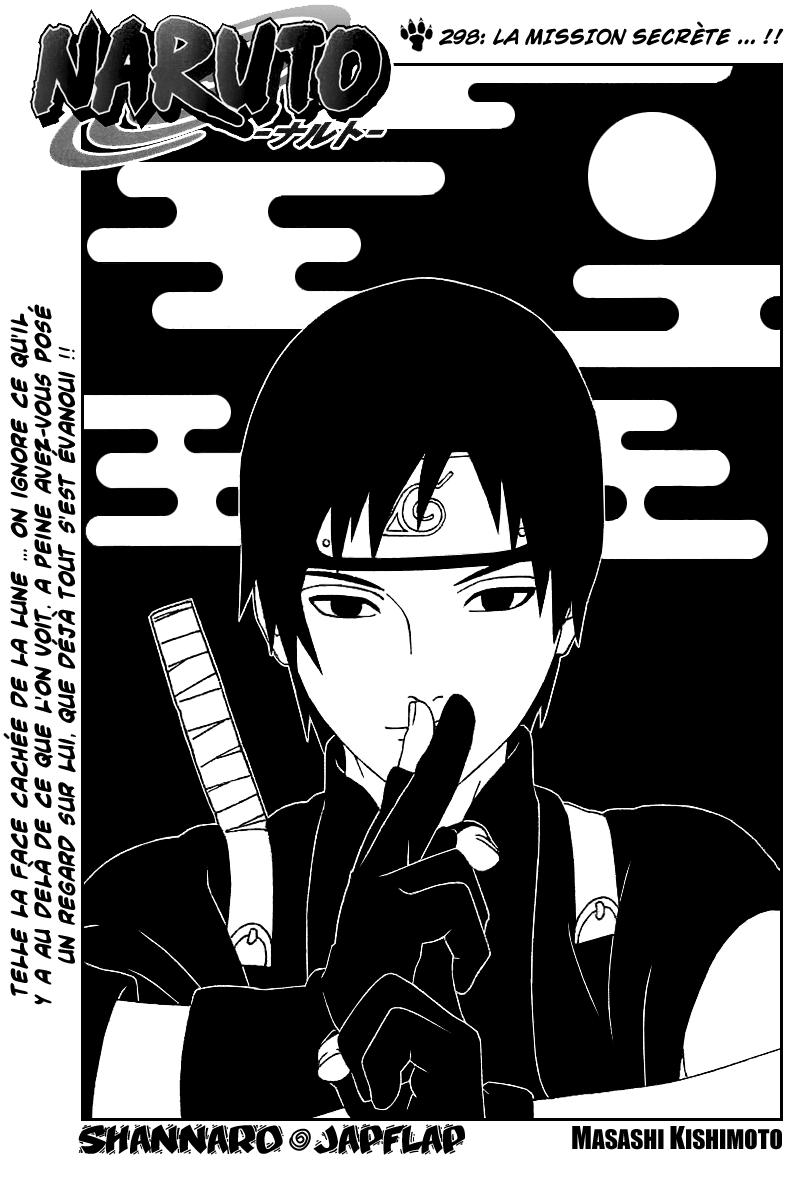 Naruto chapitre 298 - Page 1
