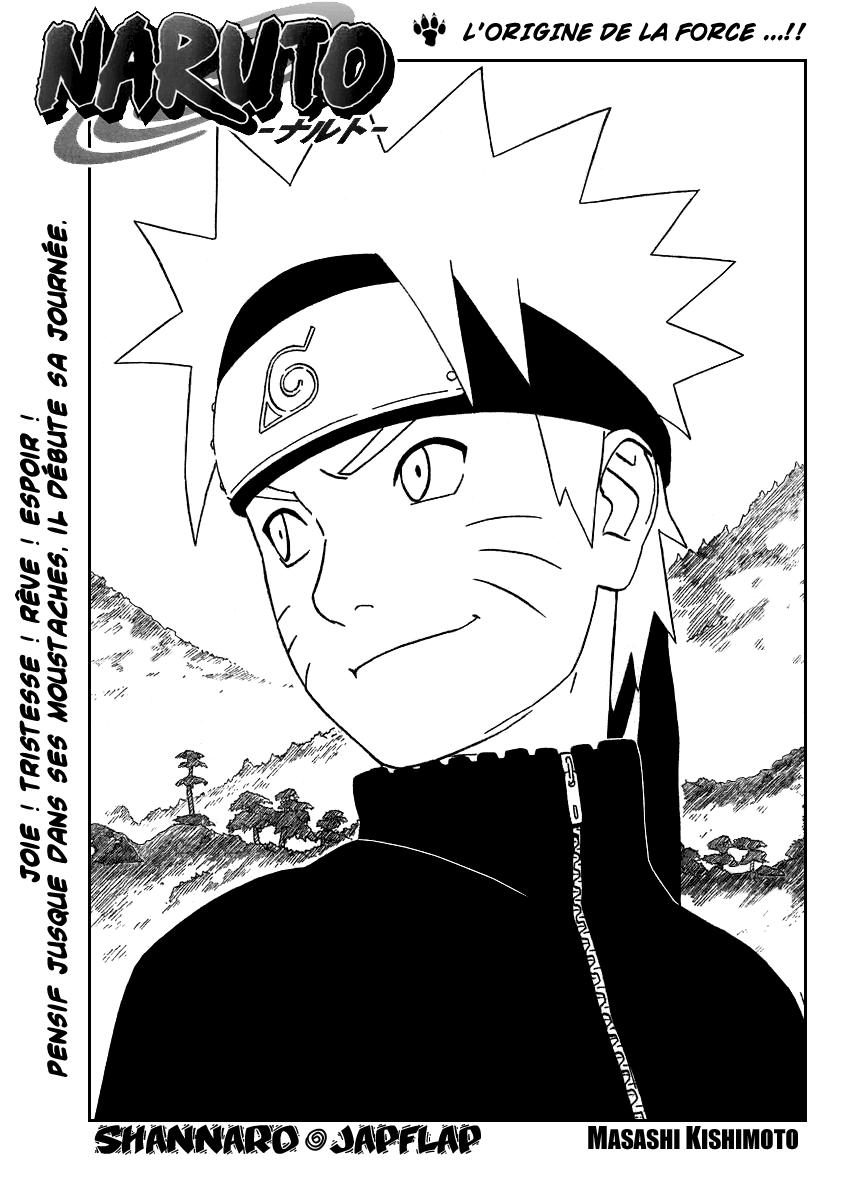 Naruto chapitre 299 - Page 1