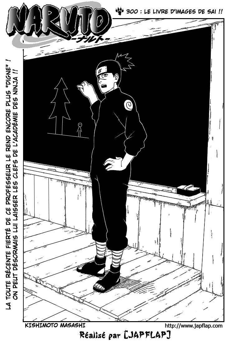 Naruto chapitre 300 - Page 1