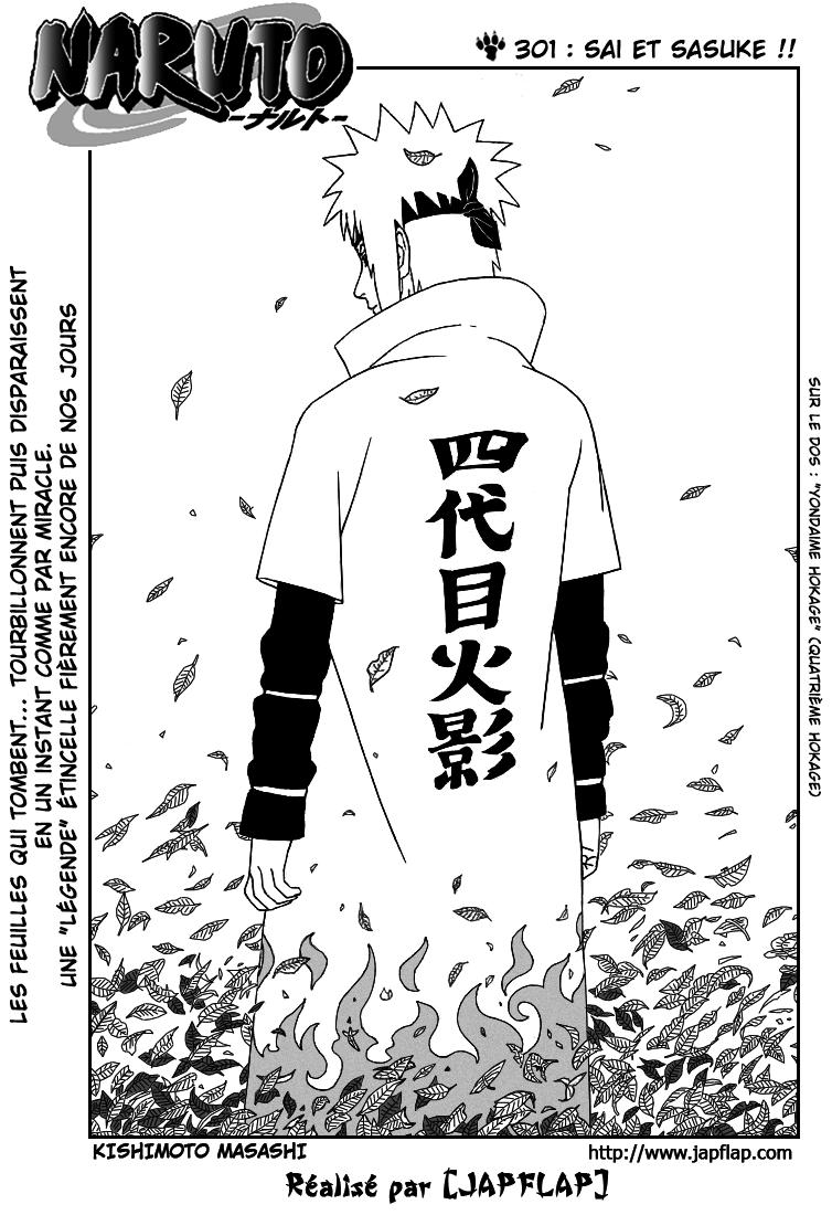 Naruto chapitre 301 - Page 1