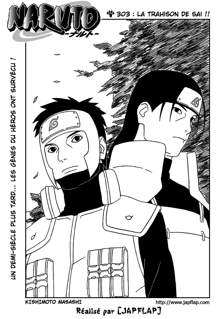 Naruto chapitre 303 - Page 1