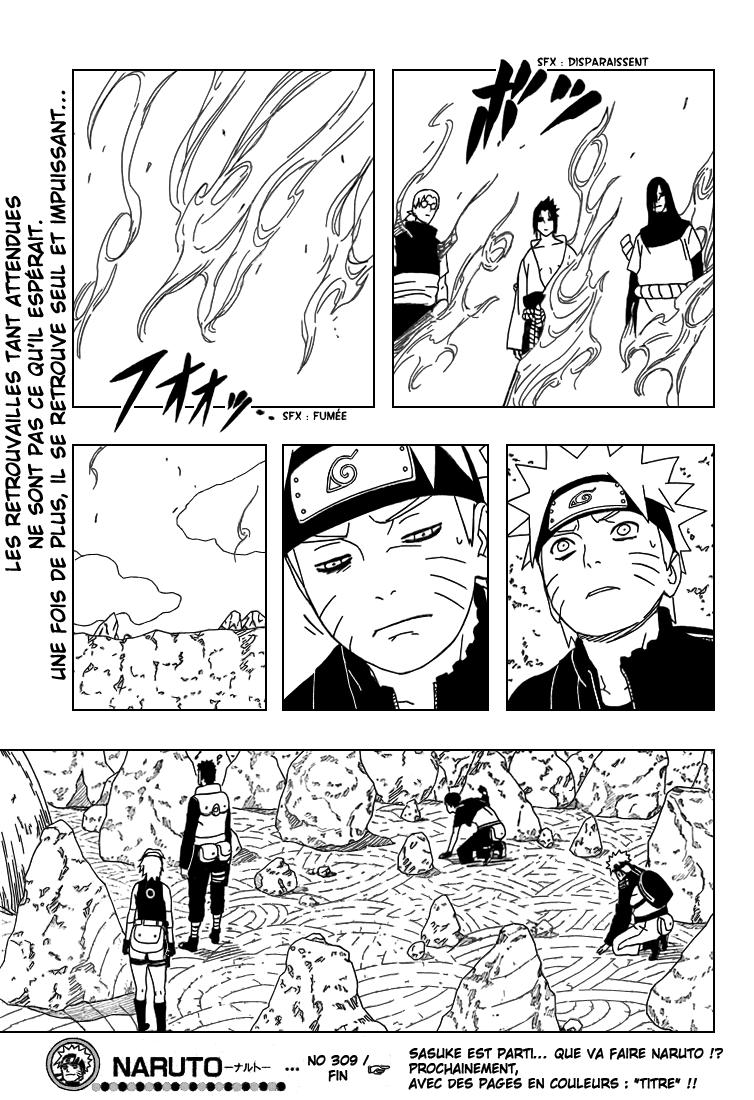 Naruto chapitre 309 - Page 16
