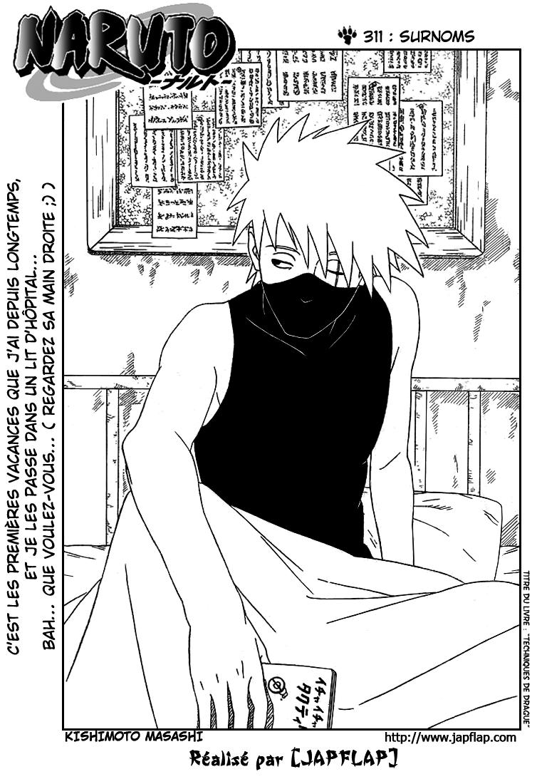 Naruto chapitre 311 - Page 1