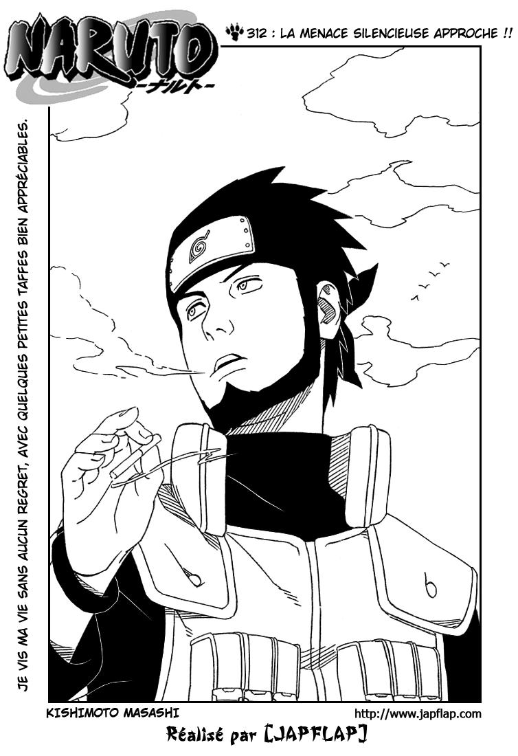 Naruto chapitre 312 - Page 1