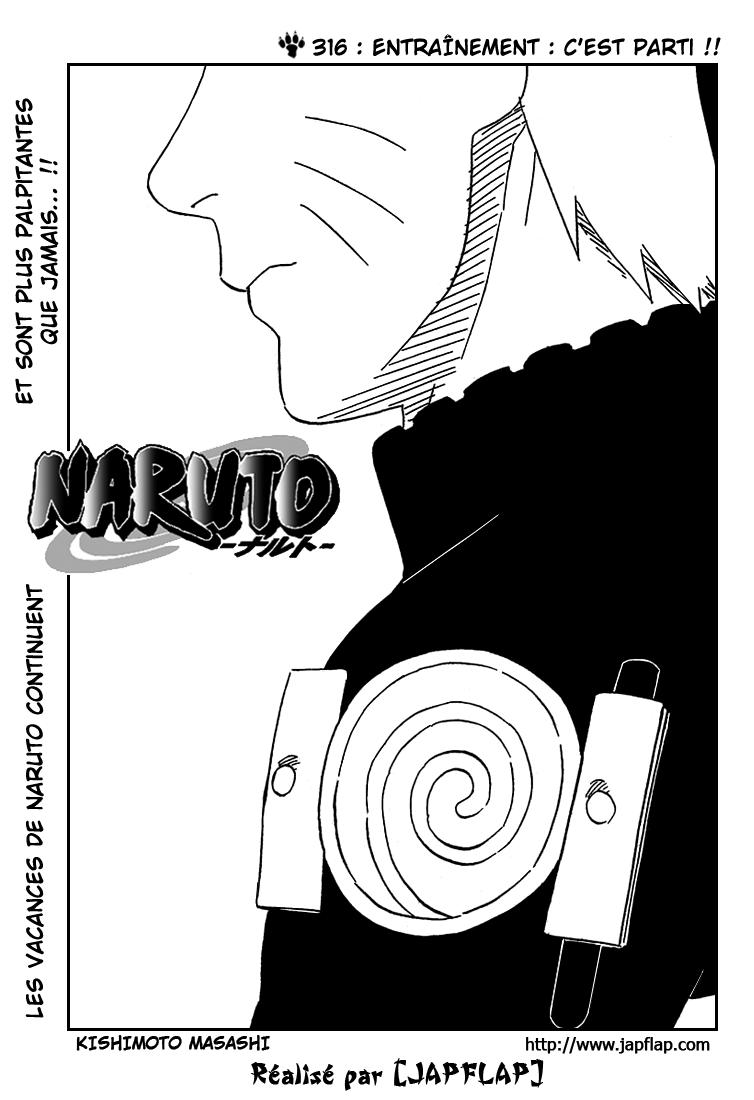 Naruto chapitre 316 - Page 1