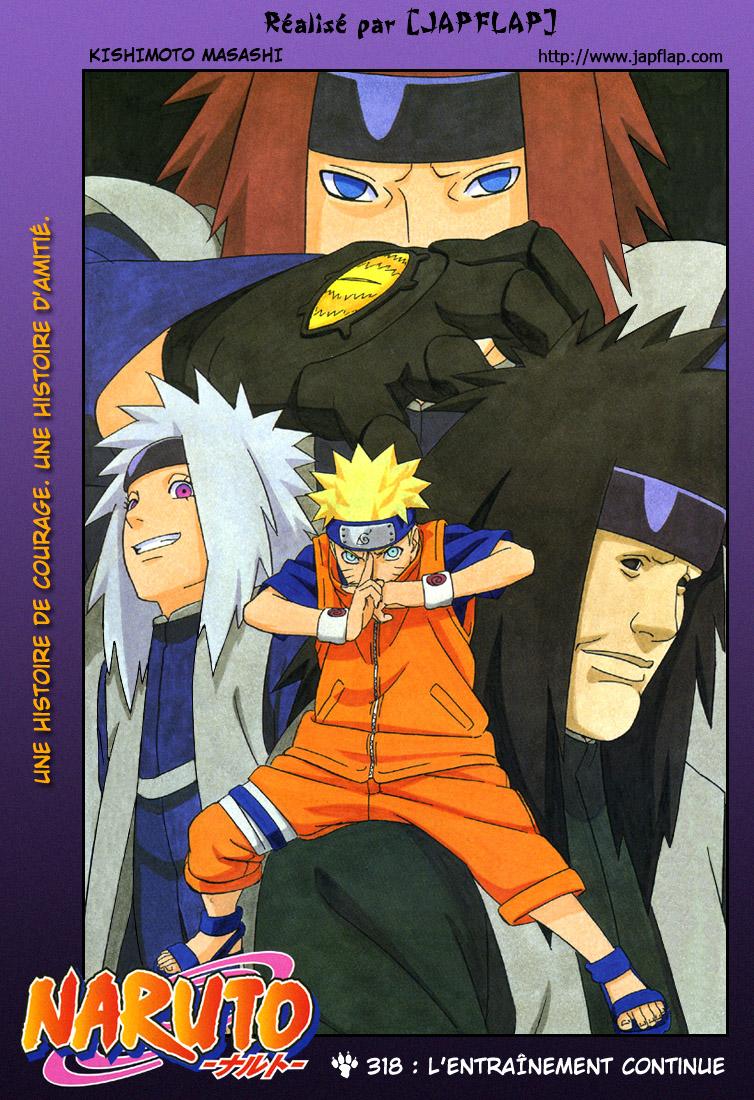 Naruto chapitre 318 - Page 1