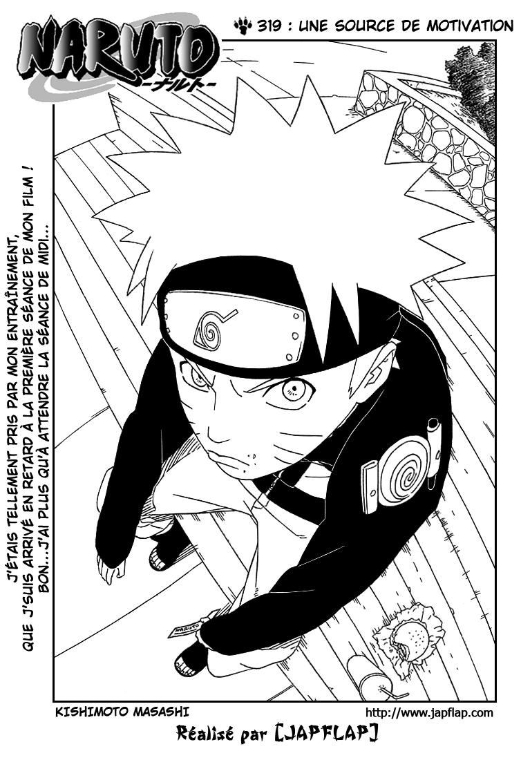 Naruto chapitre 319 - Page 1