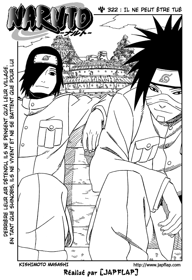Naruto chapitre 322 - Page 1