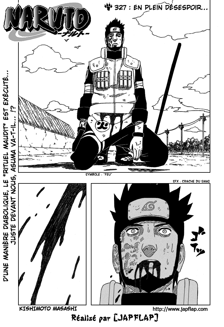 Naruto chapitre 327 - Page 1