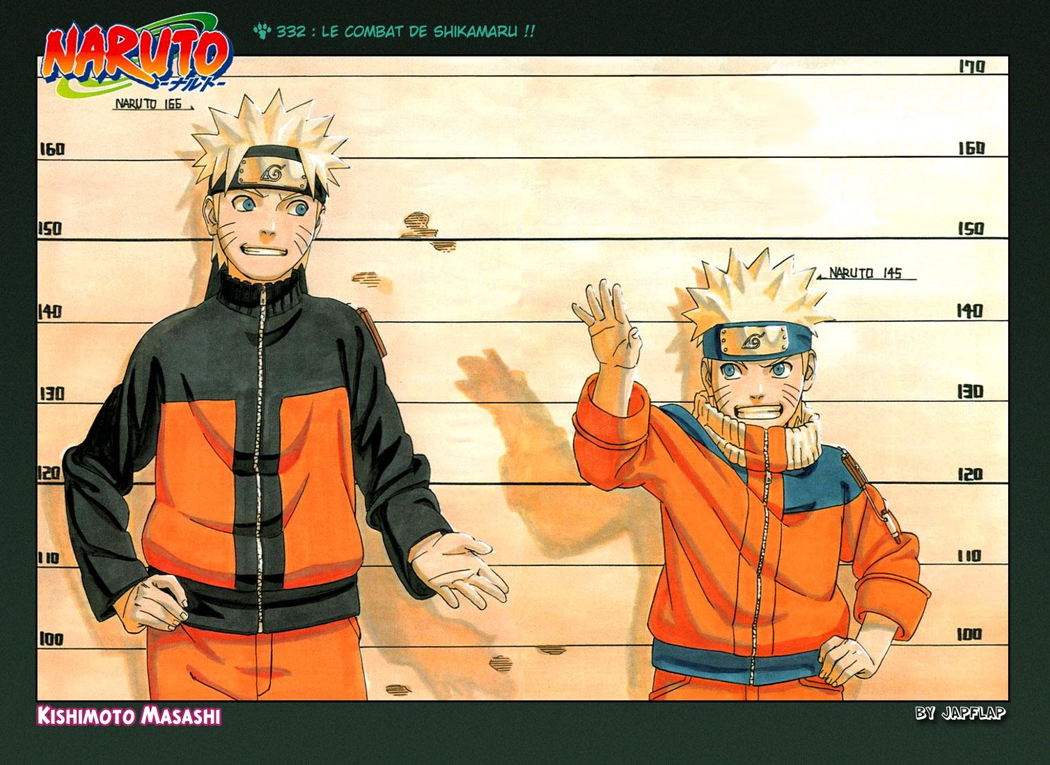 Naruto chapitre 332 - Page 1