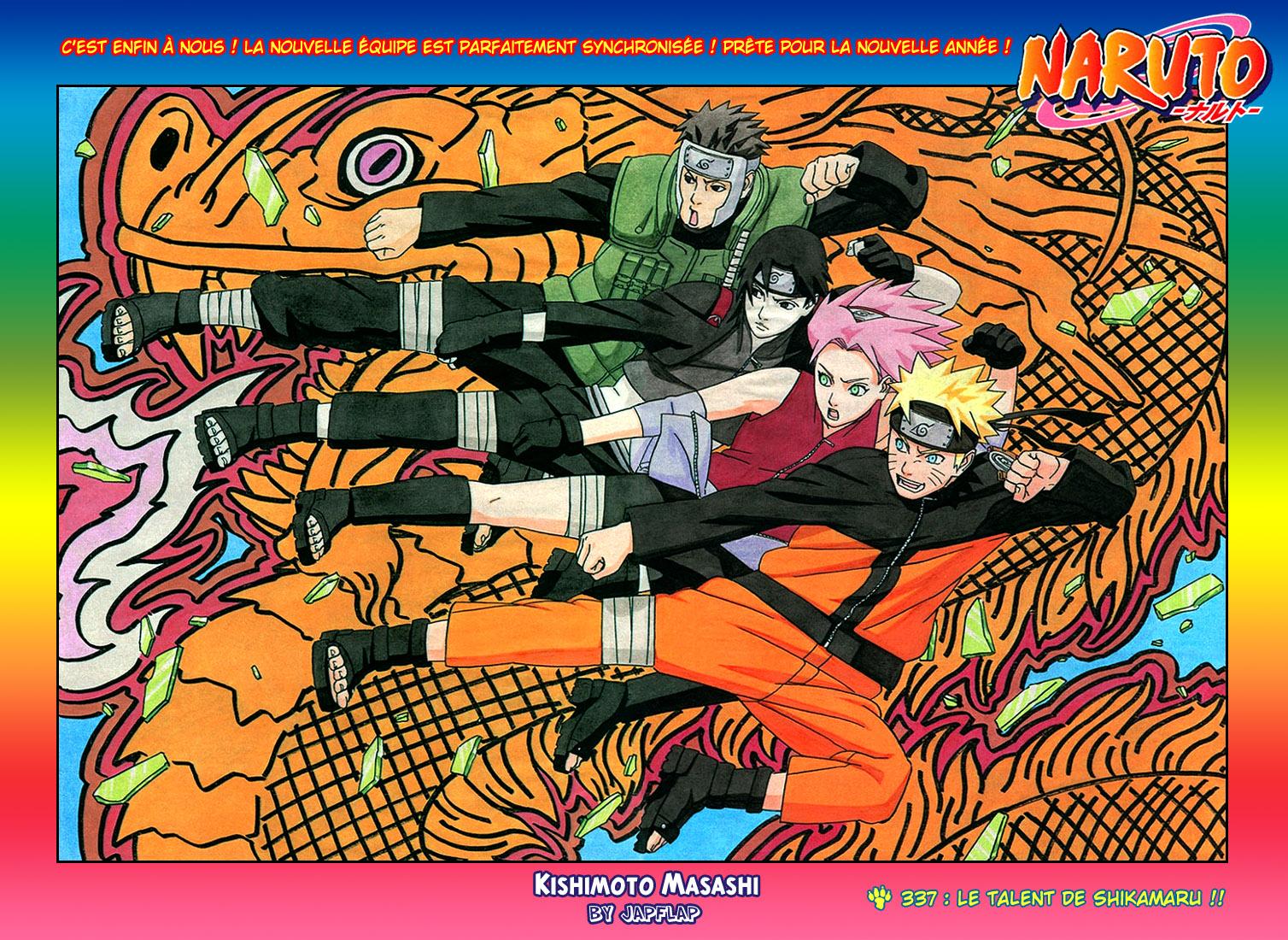 Naruto chapitre 337 - Page 1