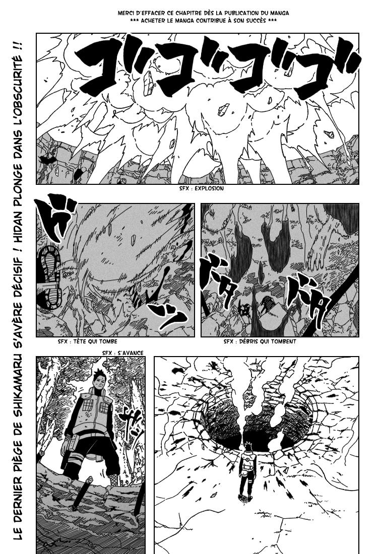 Naruto chapitre 339 - Page 1