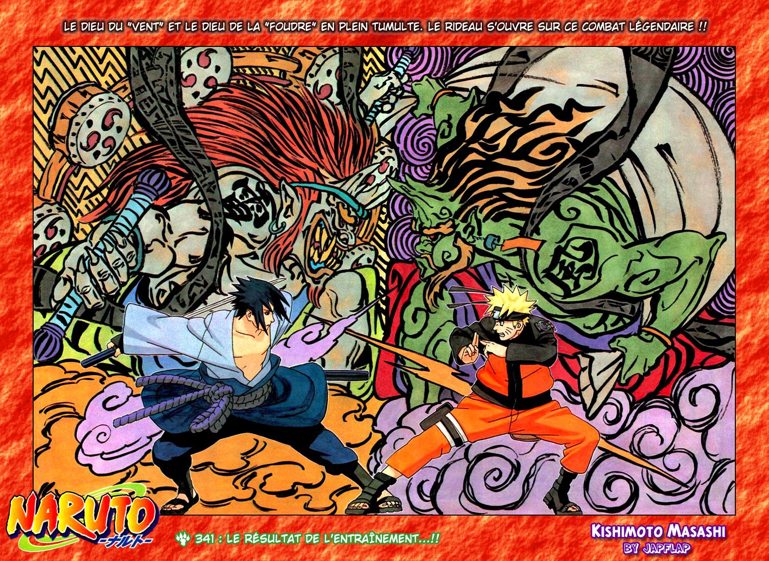 Naruto chapitre 341 - Page 1