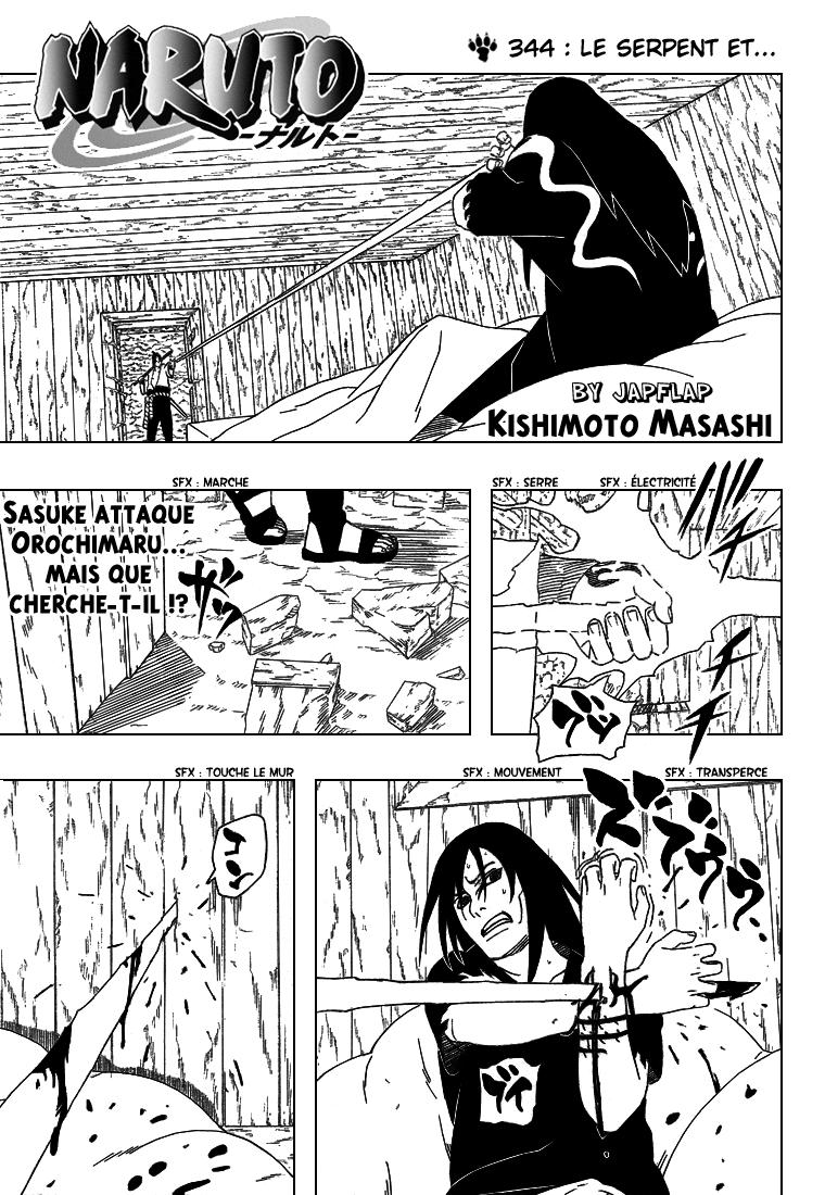 Naruto chapitre 344 - Page 1