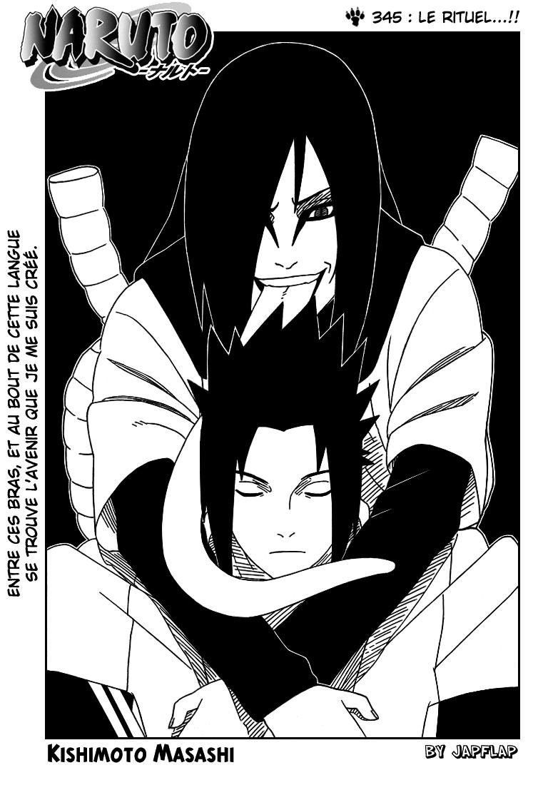 Naruto chapitre 345 - Page 1