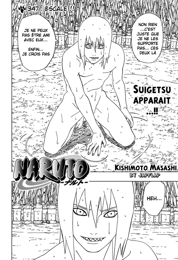 Naruto chapitre 347 - Page 2
