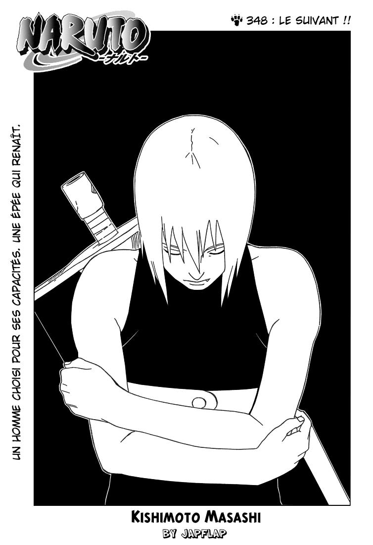 Naruto chapitre 348 - Page 1