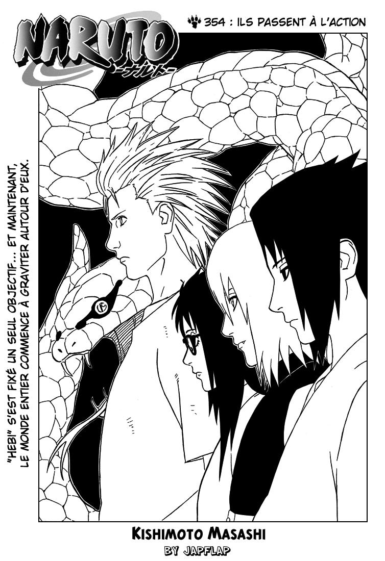 Naruto chapitre 354 - Page 1