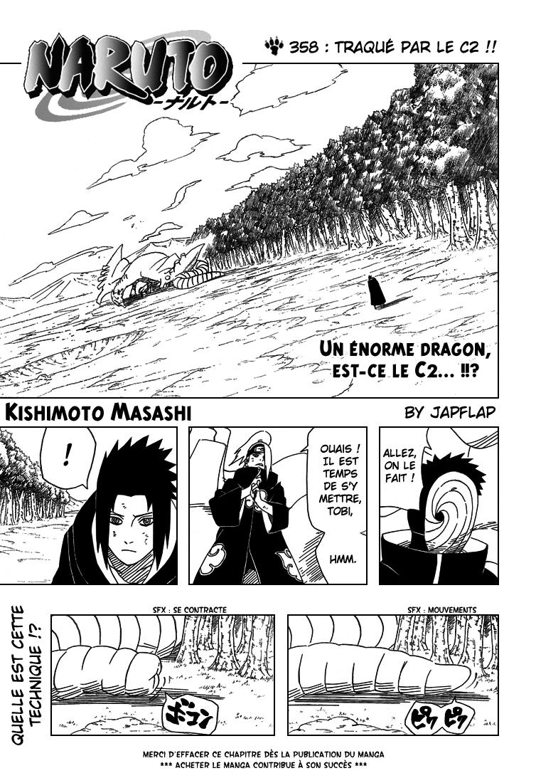 Naruto chapitre 358 - Page 1