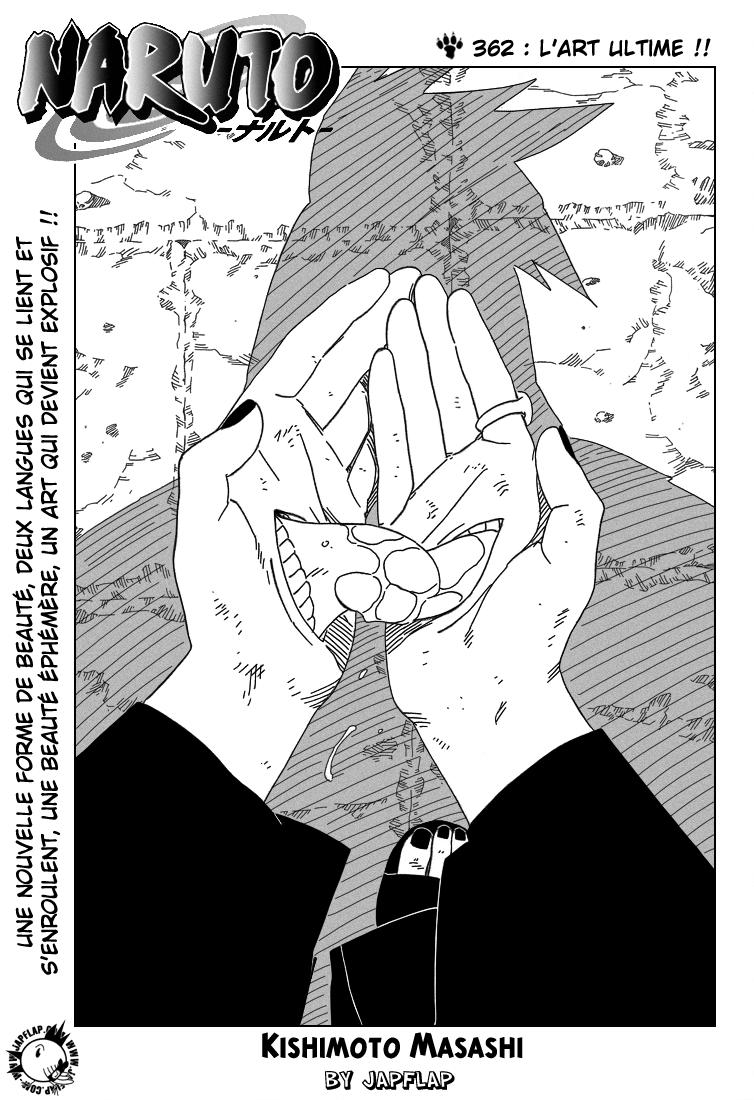 Naruto chapitre 362 - Page 1