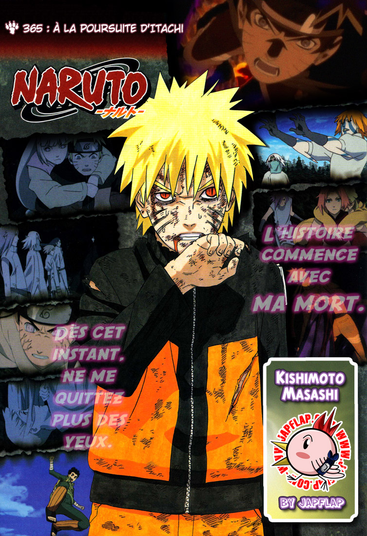 Naruto chapitre 365 - Page 1