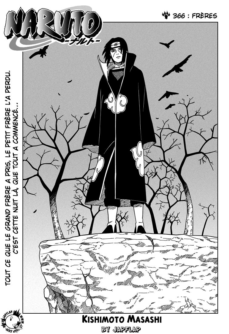 Naruto chapitre 366 - Page 1