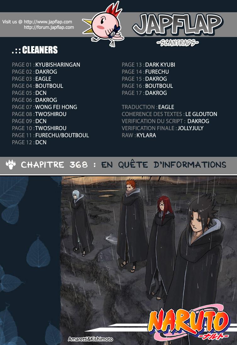 Naruto chapitre 368 - Page 18