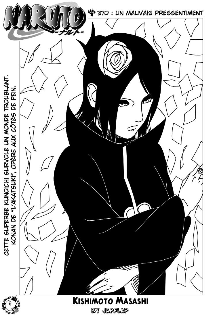 Naruto chapitre 370 - Page 1