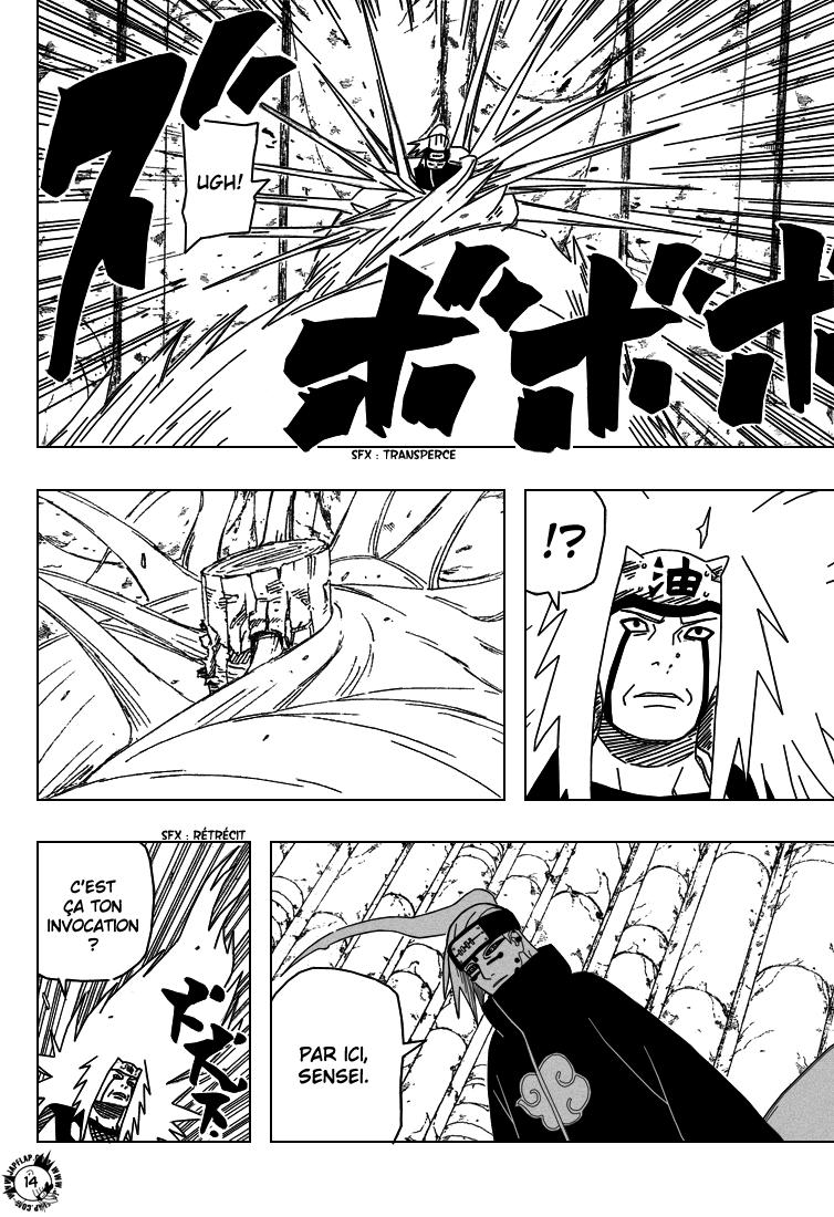 Naruto chapitre 374 - Page 14