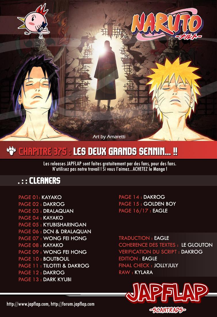 Naruto chapitre 375 - Page 17