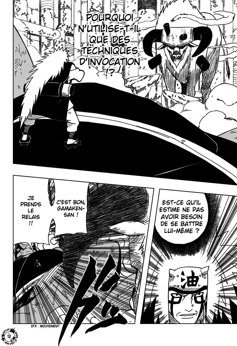 Naruto chapitre 375 - Page 12