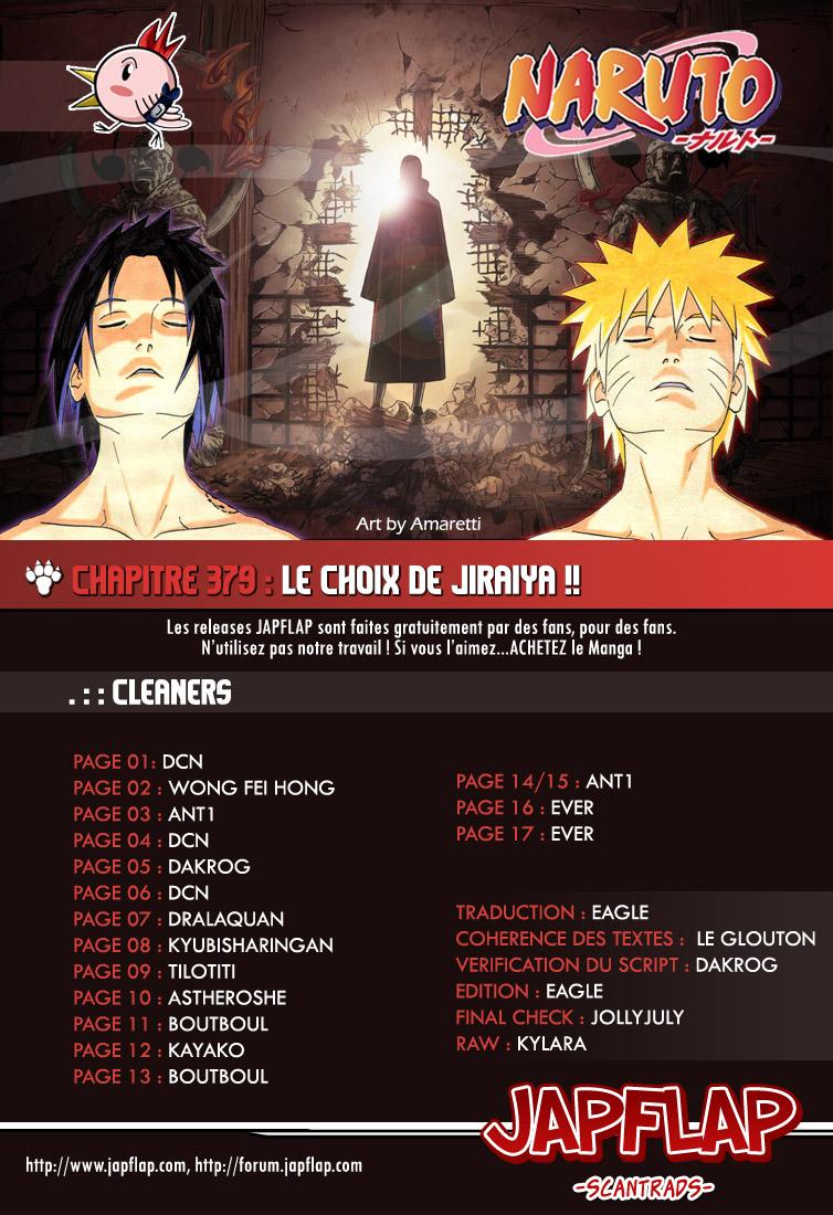 Naruto chapitre 379 - Page 17