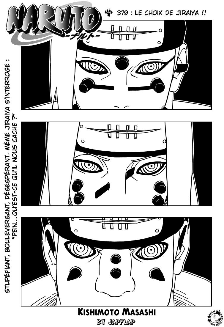 Naruto chapitre 379 - Page 1