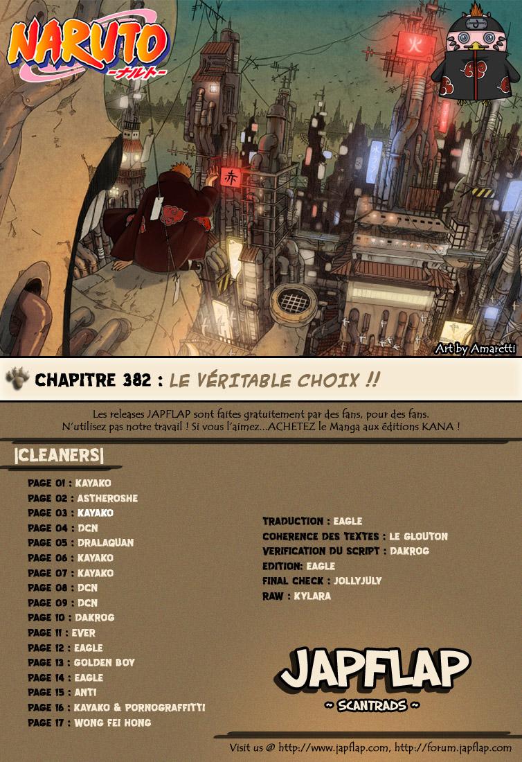 Naruto chapitre 382 - Page 18