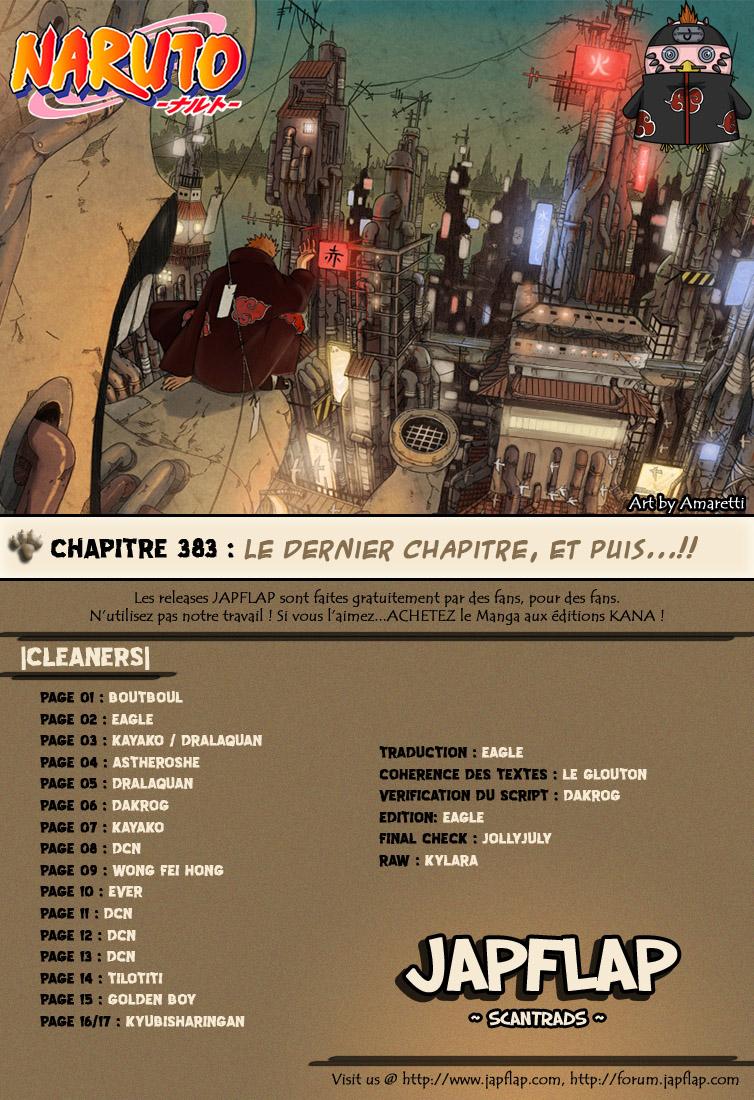 Naruto chapitre 383 - Page 17