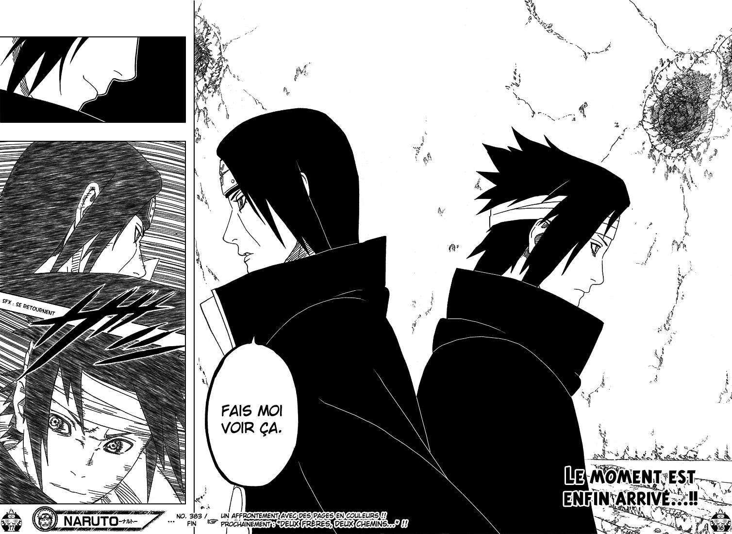 Naruto chapitre 383 - Page 16