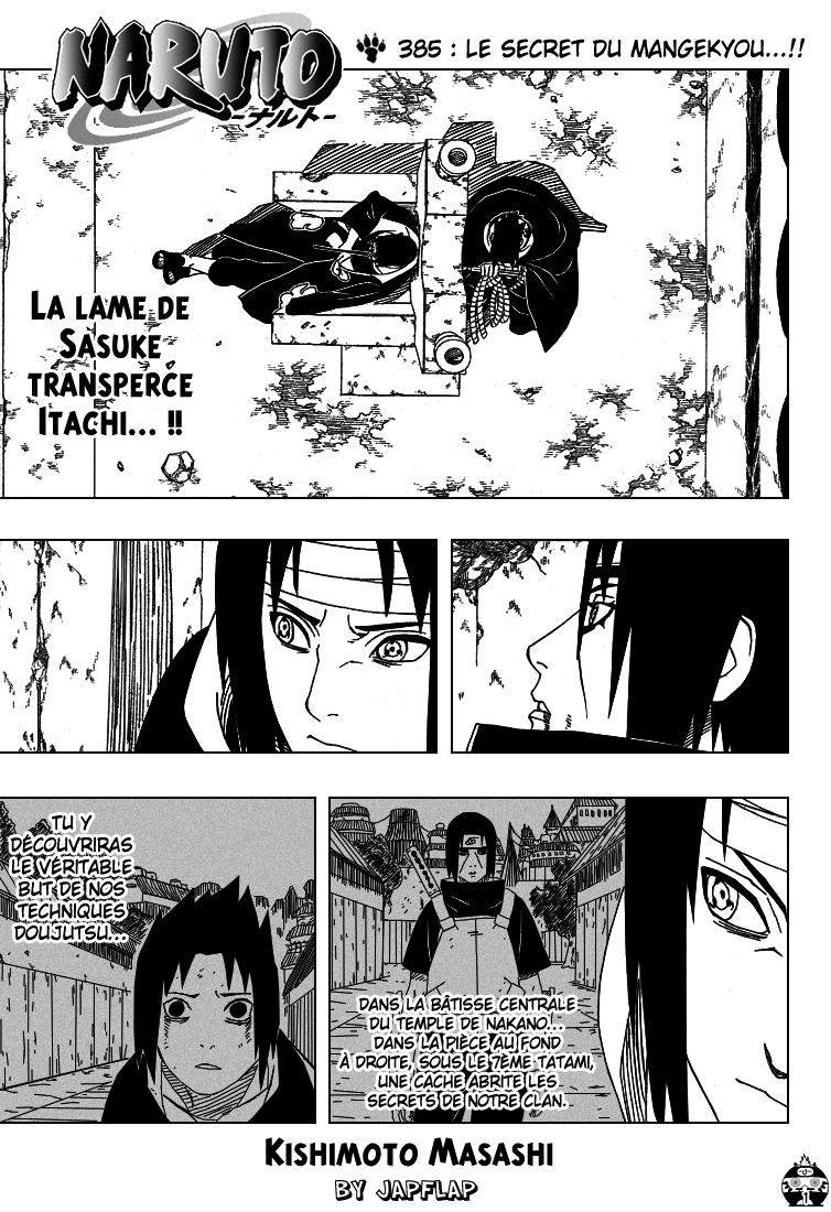 Naruto chapitre 385 - Page 1