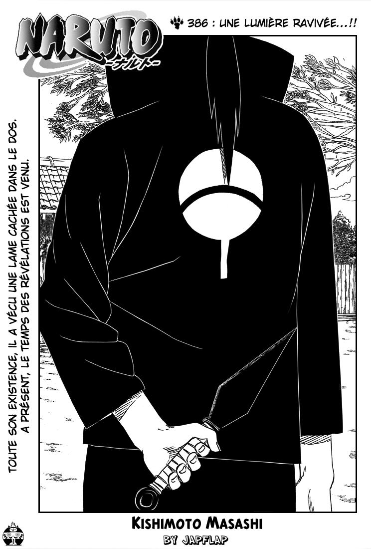 Naruto chapitre 386 - Page 1