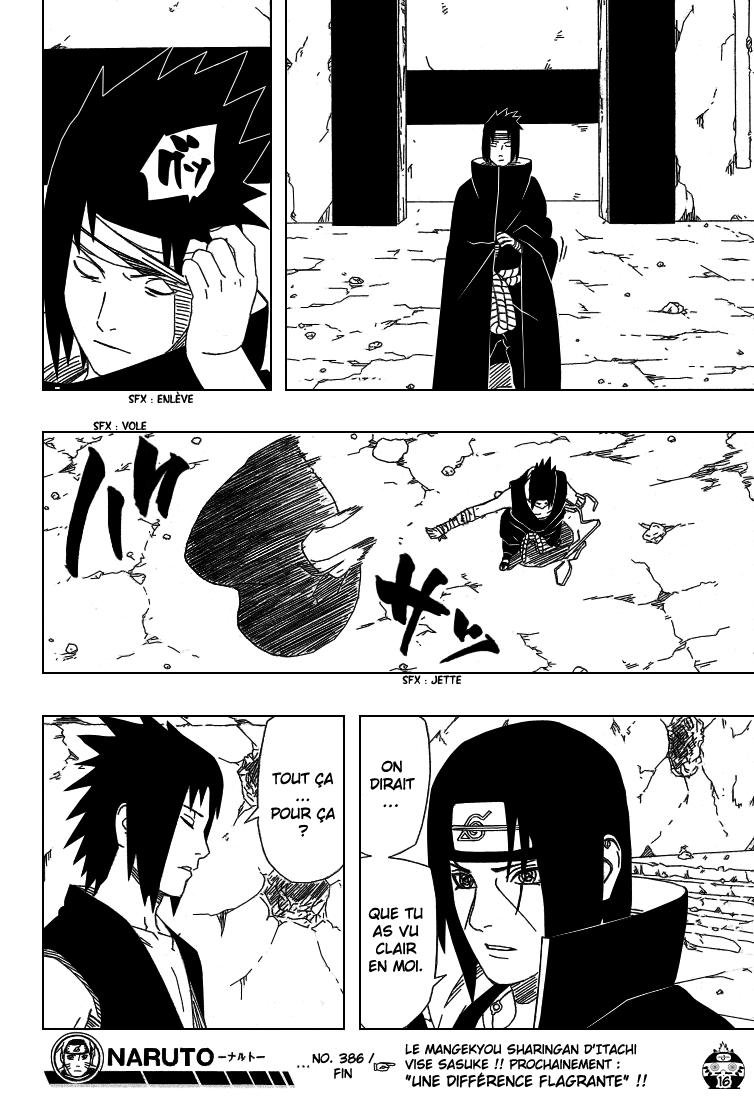 Naruto chapitre 386 - Page 16