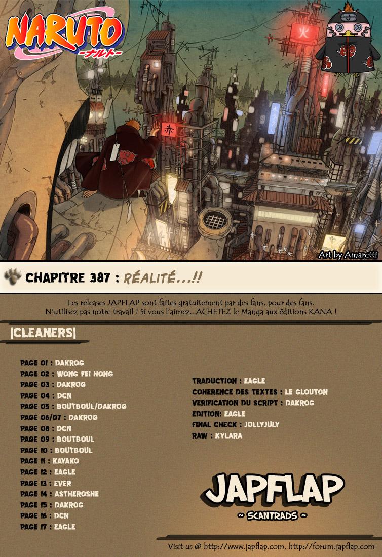 Naruto chapitre 387 - Page 17