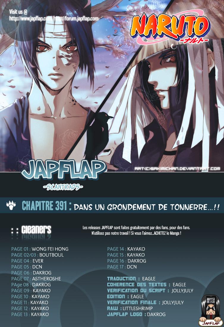 Naruto chapitre 391 - Page 17