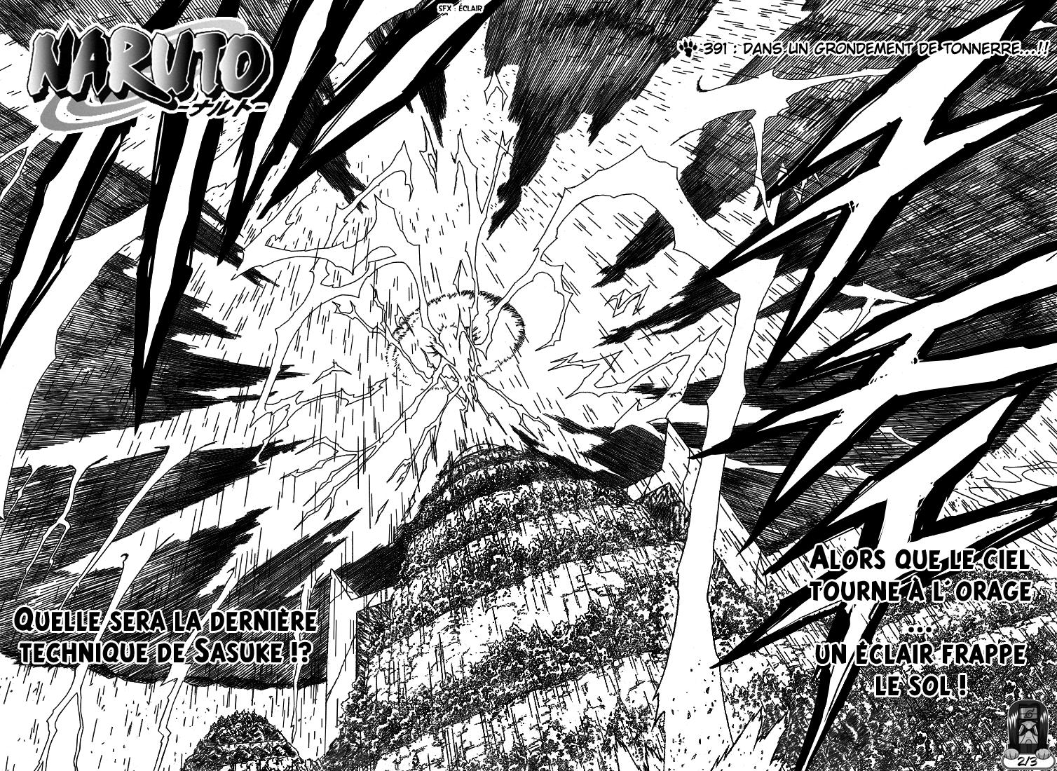Naruto chapitre 391 - Page 2