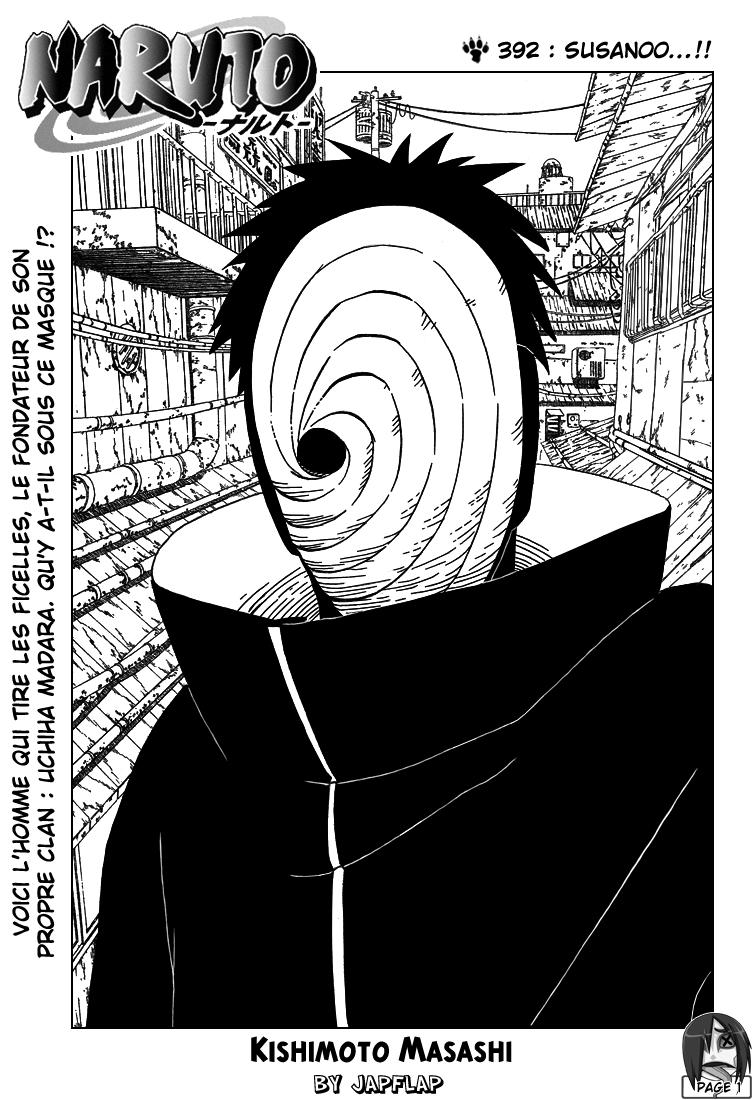 Naruto chapitre 392 - Page 1