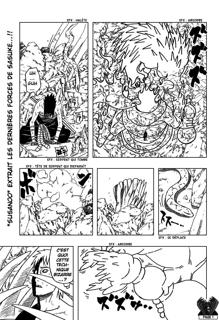 Naruto chapitre 393 - Page 1